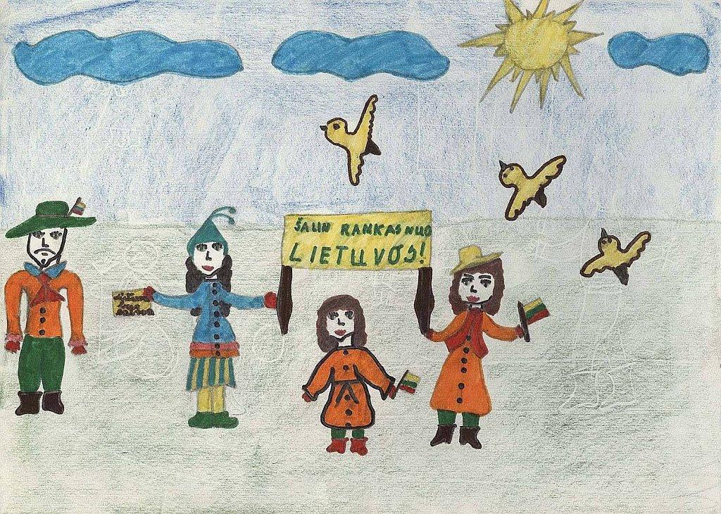 Lilionytė Agnė, 4d klasė