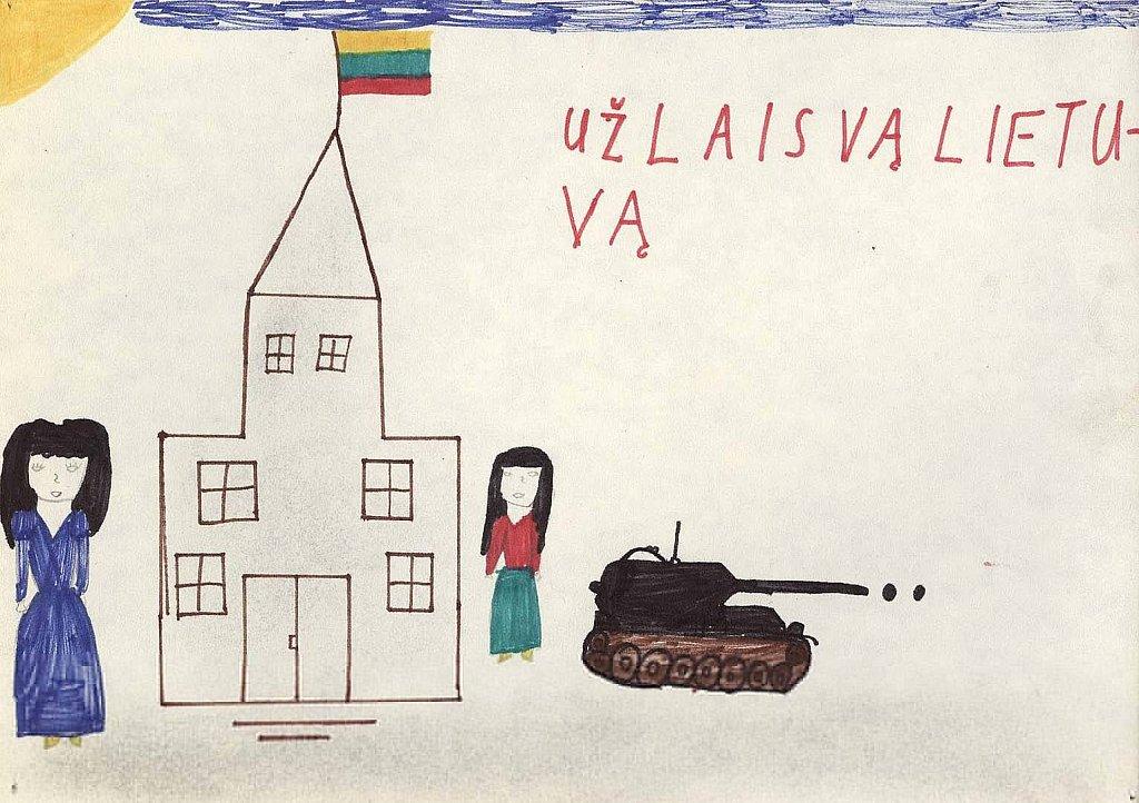 Grigoravičiūtė Jūratė, 4 klasė