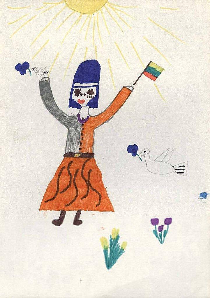 Kancevičiūtė Rima, 4 klasė
