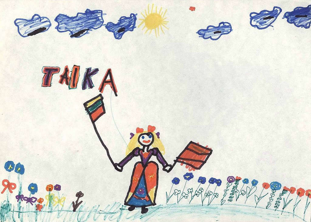 Baranauskaitė Evelina, 1d klasė