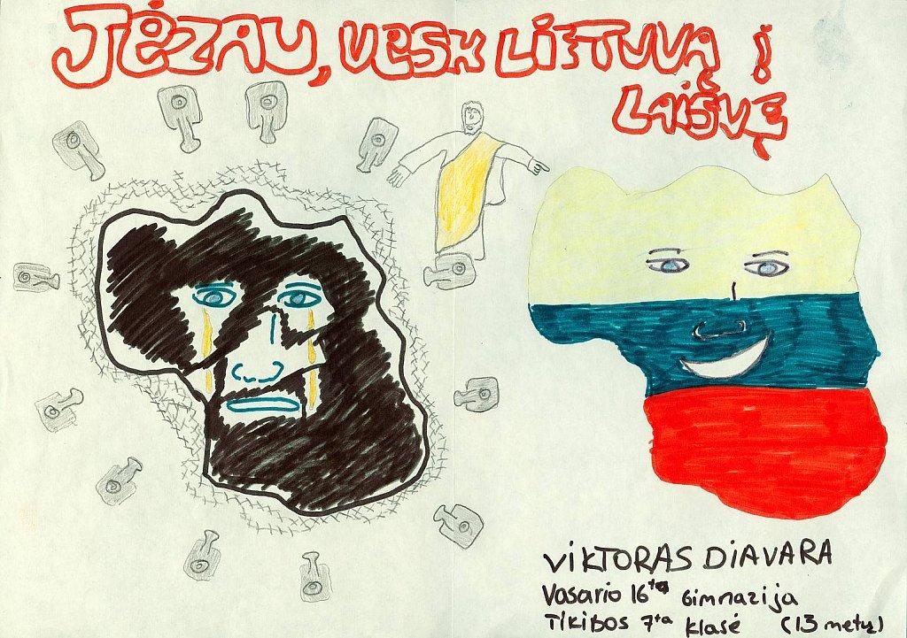 Diavara Viktoras, 7 klasė