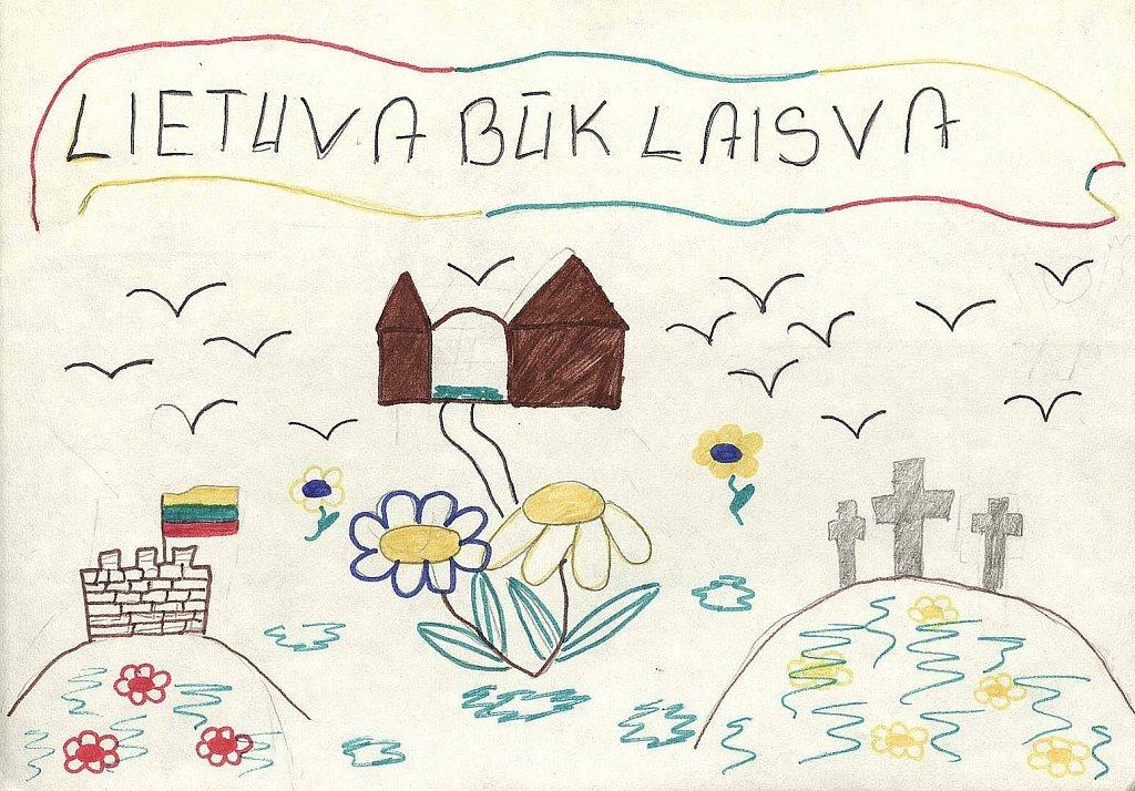 Černiauskaitė Evelina, 5d klasė